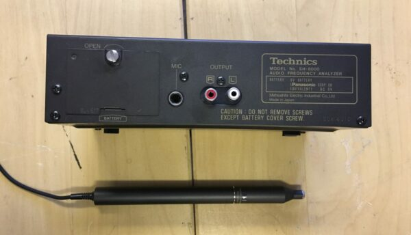Technics SH8000 sivu