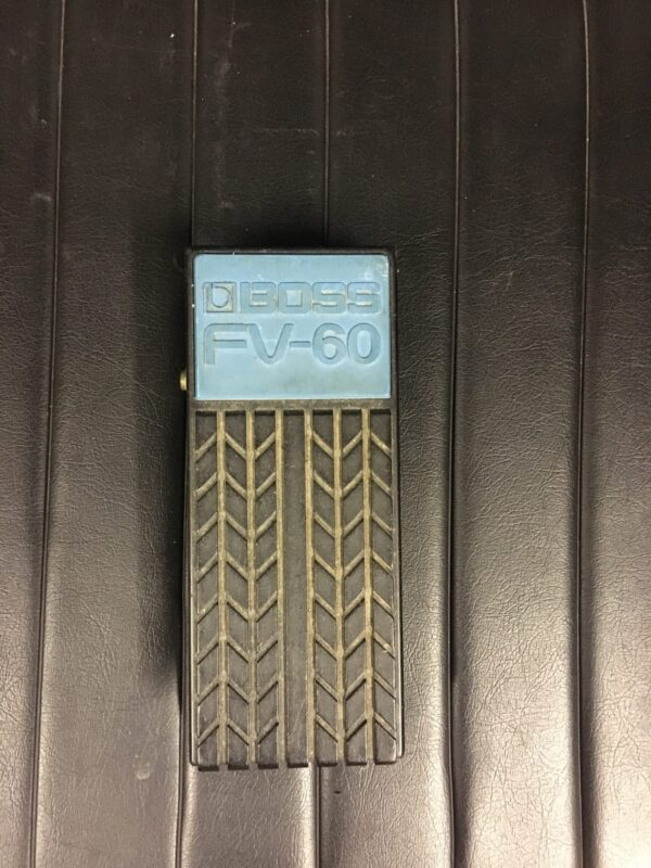 boss fv60 vol pedal up