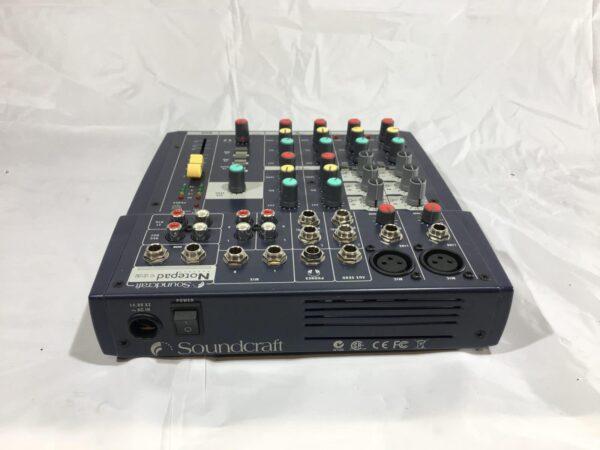 Soundcraft notepad 102 rear