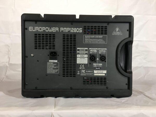 Behringer Europower PMP1280 rear