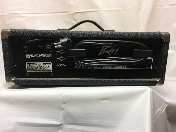 Peavey XR-400 mikserivahvistin_rear