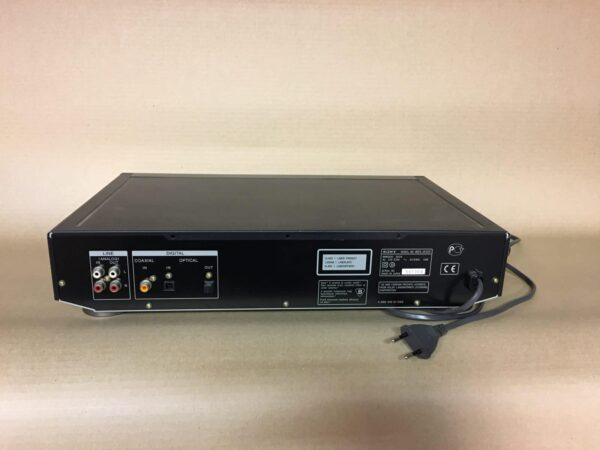 Sony MDS-JE520 MD soitin rear