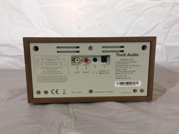 Tivoli Audio Model CD rear