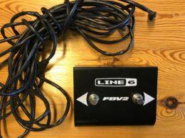 line 6 fbv2 pedalsw