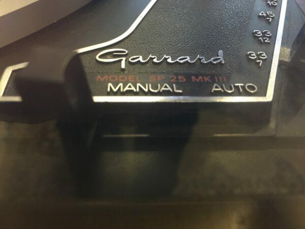 vinyl ferguson 3434 Garrard model sp 25 mk3