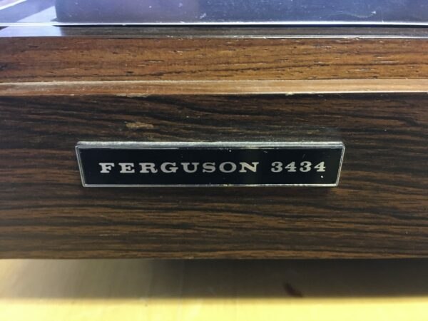vinyl ferguson 3434 logo