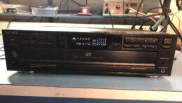 Pioneer 5CD player CDP-C315 etu