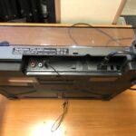 Technics SL-B210 levari taka liittimet